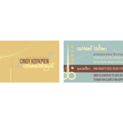 Koskinen Creative - Cindy Koskinen, Cosmetologist - Business Cards