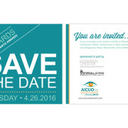 Koskinen Creative - AICUO EVA Art Awards Save the Date Postcard