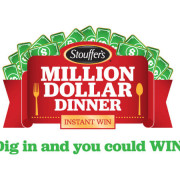 Stouffer's Million Dollar Dinner Instant Win Logo