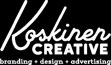 Koskinen Creative logo White
